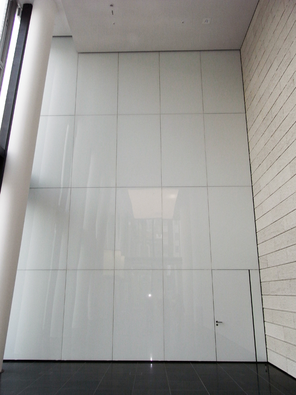 Glas Innen Fassade